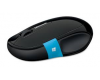 MS mouse wireless sculpt comfort black